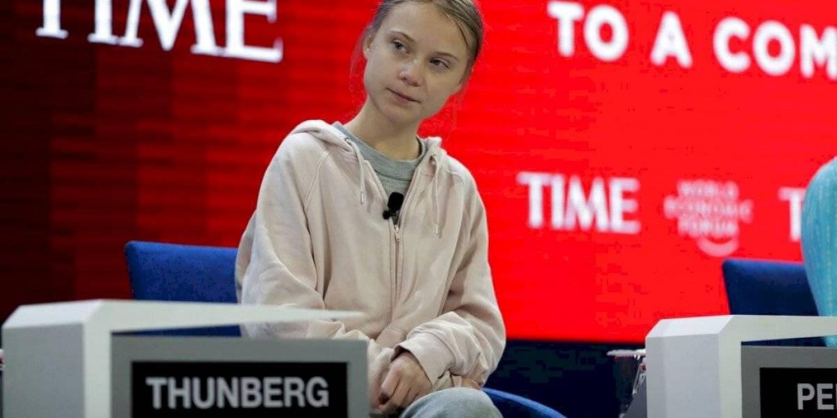 Greta Thunberg critica en Davos la falta de acción climática