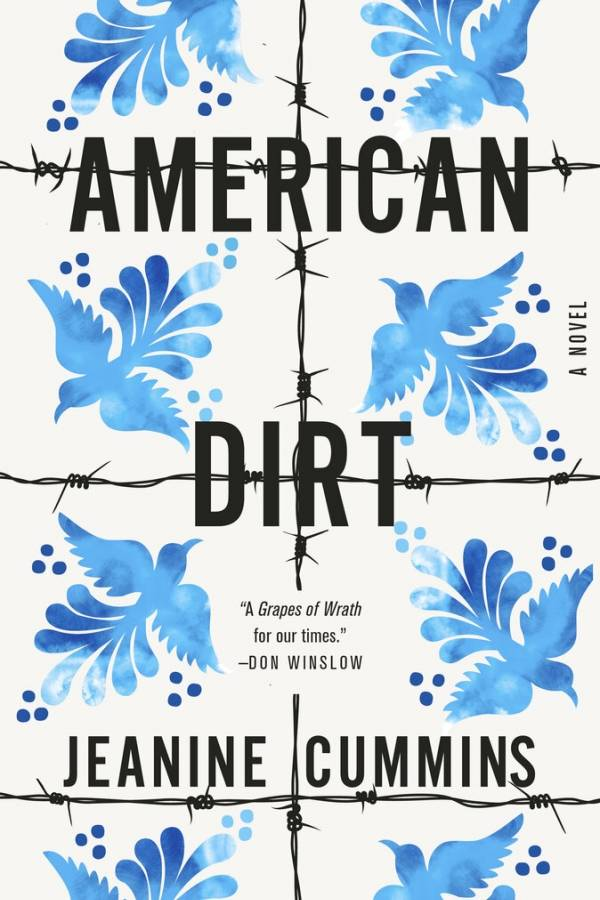 "En esta imagen difundida por Flatiron Books, la portada de ""American Dirt"", una novela de Jeanine Cummins."