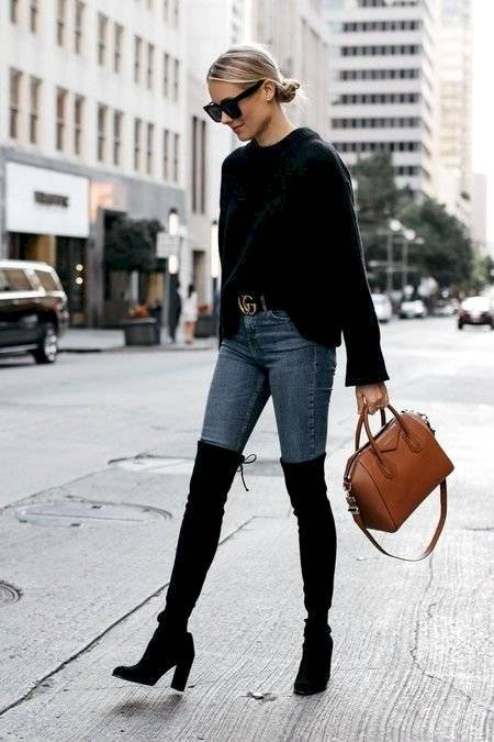 outfit botas largas
