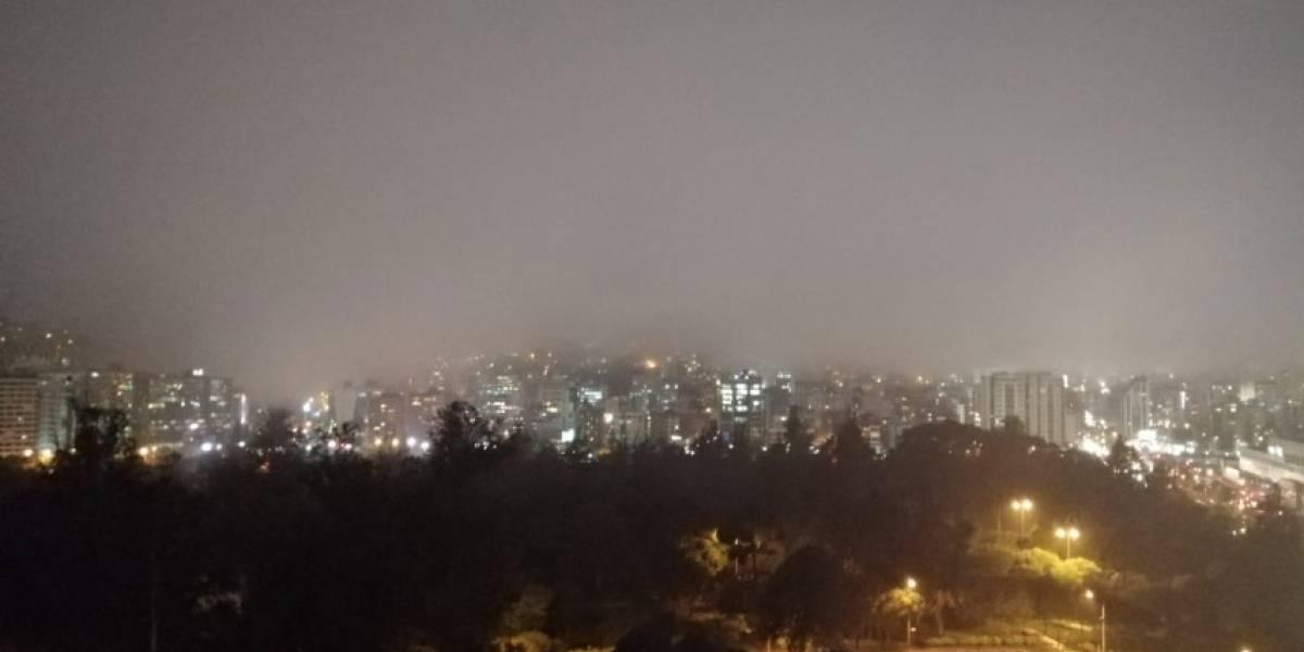 Niebla cubre la capital ecuatoriana este martes 21 de enero, ¿por qué?