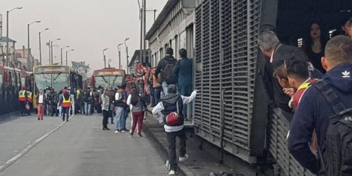 Estas son las estaciones de TransMilenio paralizadas por manifestaciones