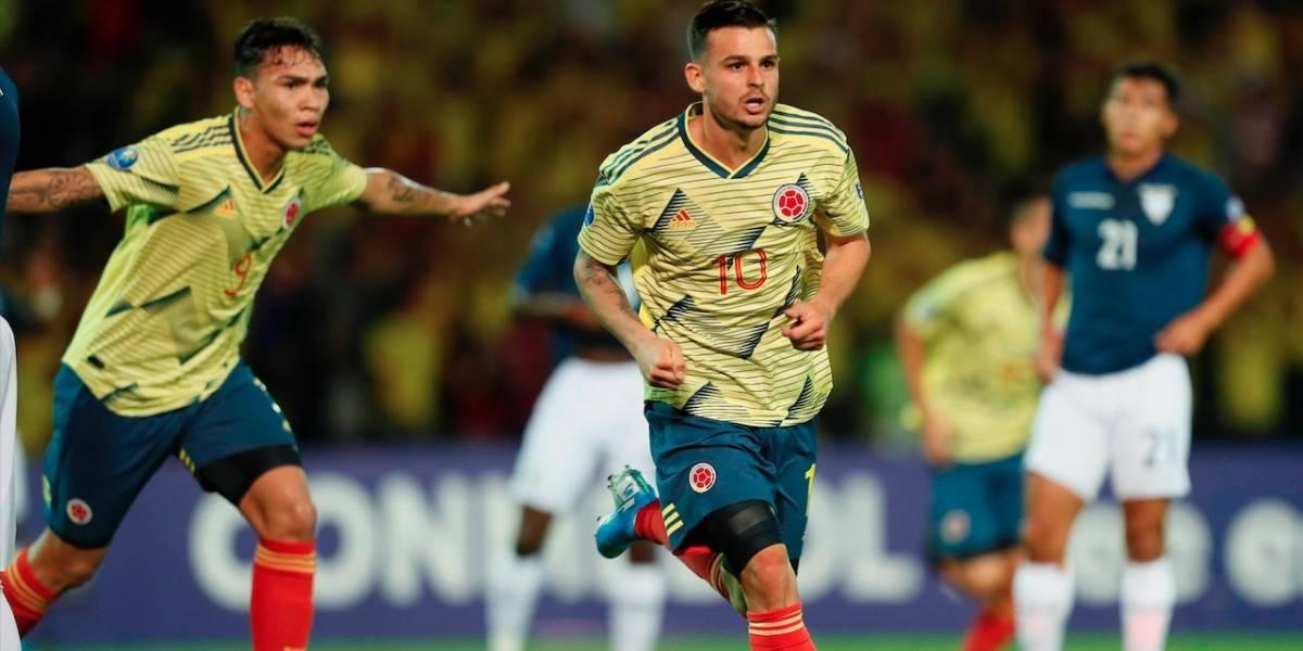 En La Milagrosa, Colombia goleó a Ecuador y resucitó en el Torneo Preolímpico 2020