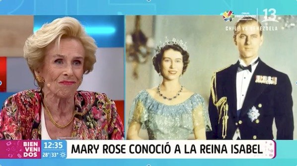 Mary Rose McGuill Reina Isabel