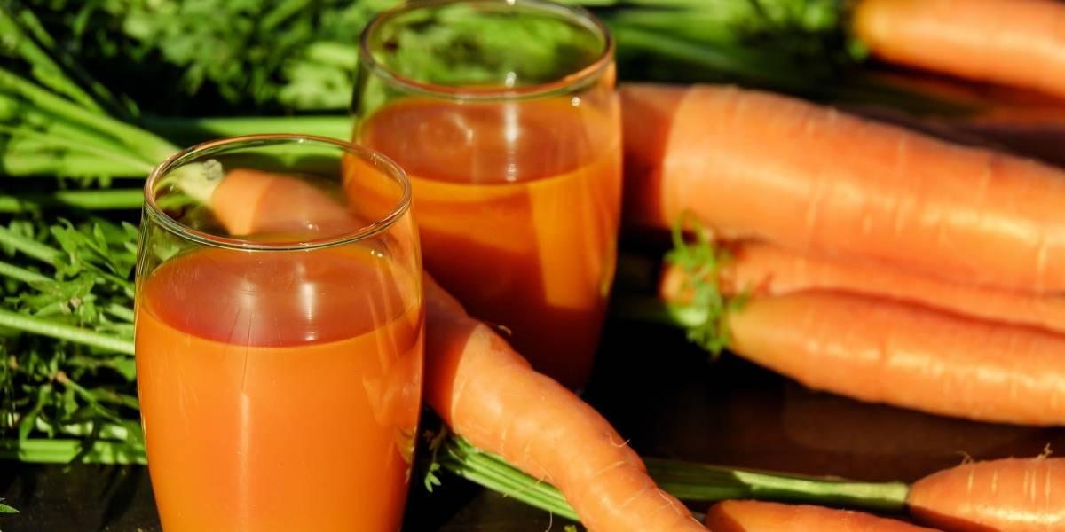 Suco de cenoura e gengibre para diminuir o apetite