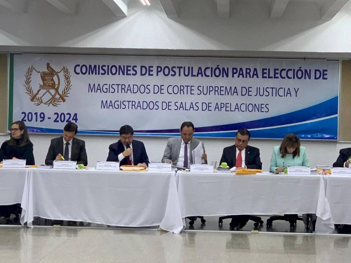 Comisión de Postulación para Corte de Apelaciones