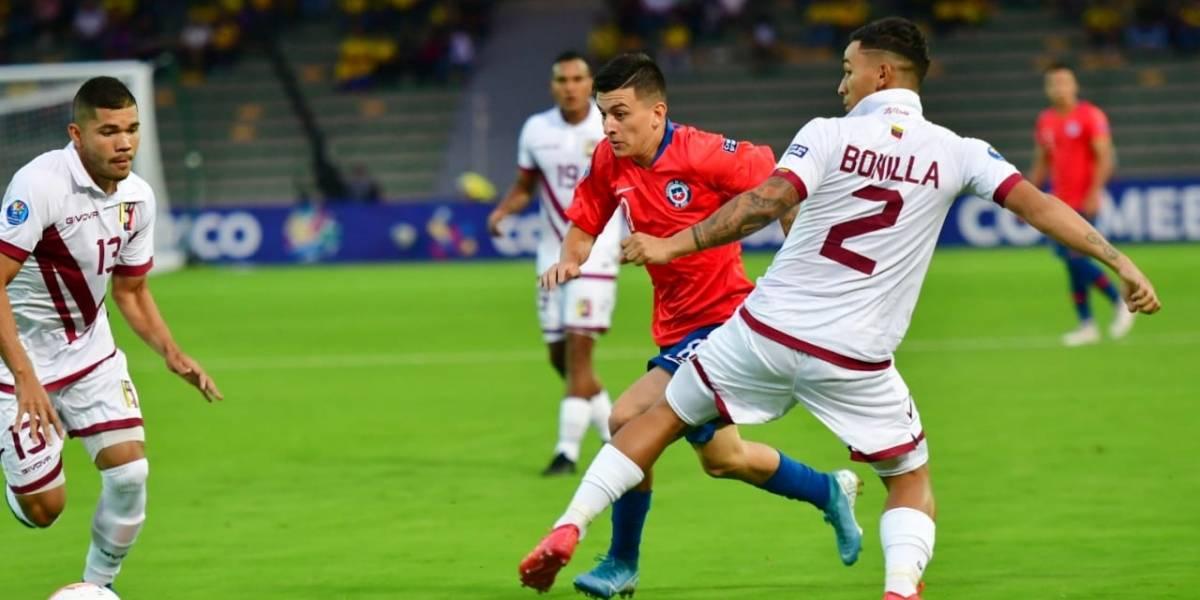 La Roja Sub 23 logró importante triunfo ante Venezuela y es puntero en el Preolímpico