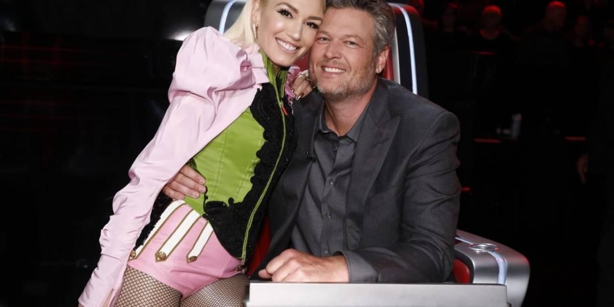 """Gwen Stefani y Blake Shelton """"se comen a besos"""" en el video """"Nobody but you"""""""