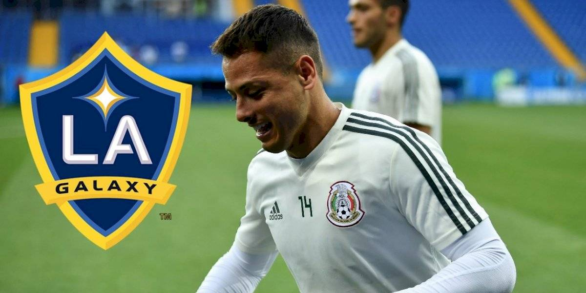 OFICIAL: Javier Hernández es nuevo jugador del Galaxy
