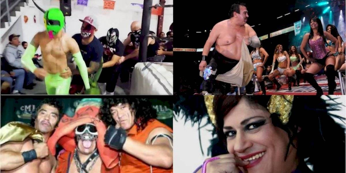 Las presentaciones más originales de la lucha libre mexicana
