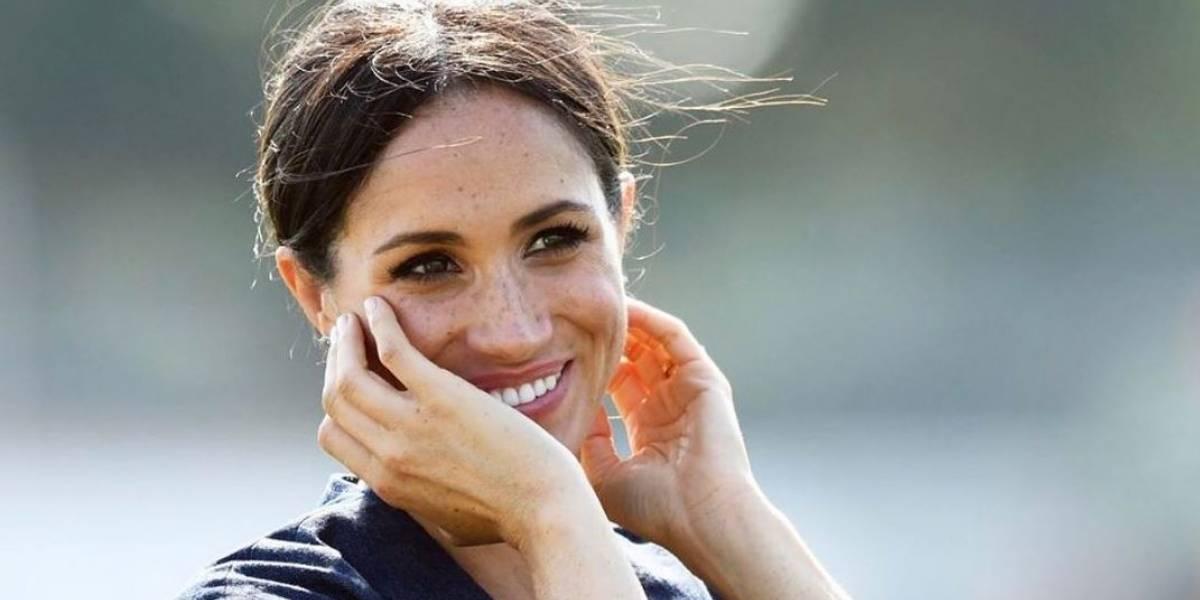 Meghan Markle irradia felicidad durante un paseo con Archie