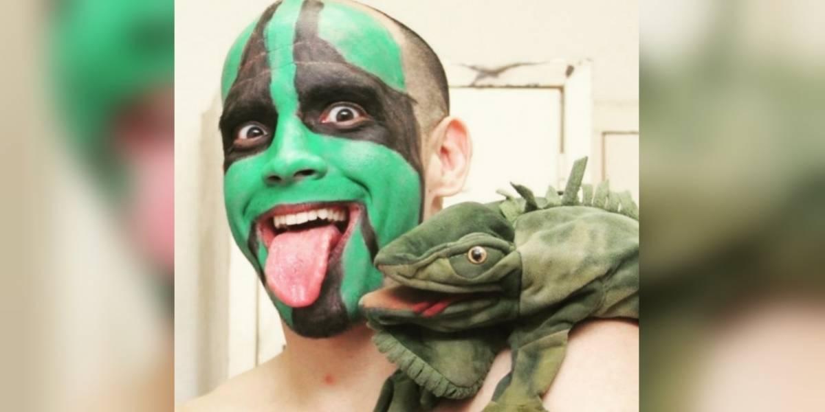 VIDEO: La graciosa entrada de Mr. Iguana en la lucha libre