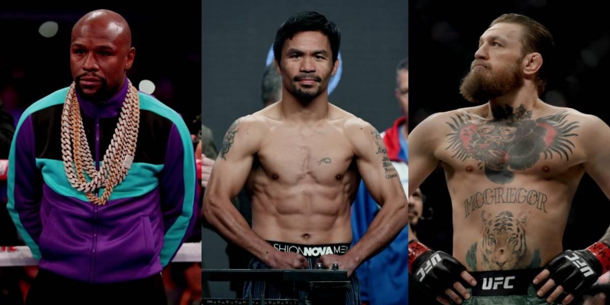 Manny Pacquiao podría pelear en el 2020 ante Mayweather y McGregor