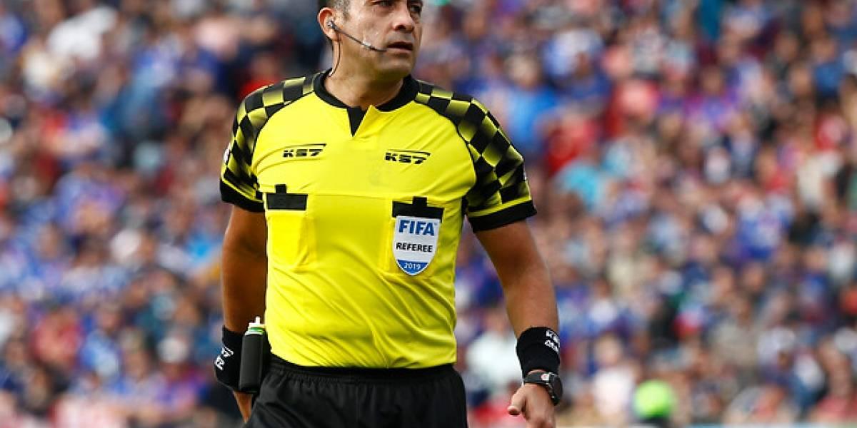 Julio Bascuñán fue designado para arbitrar la final de Copa Chile entre la U y Colo Colo