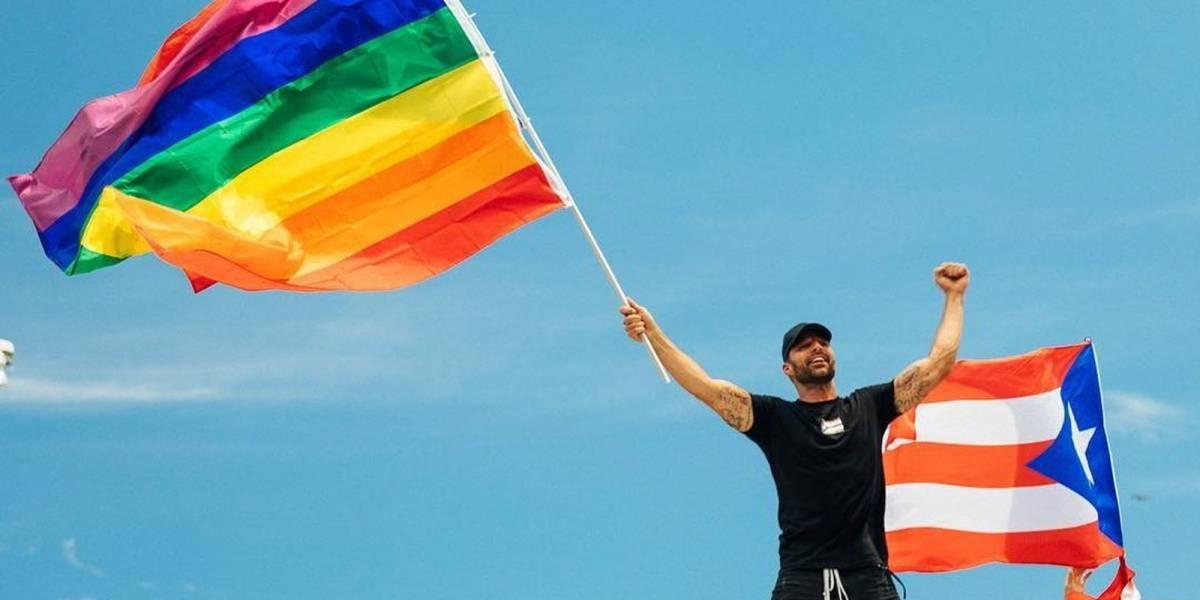 """Ricky Martin a Puerto Rico: """"Estoy con ustedes. Sintiendo el dolor"""""""