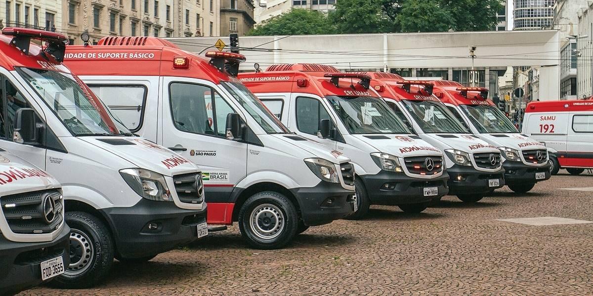 Samu: 42 ambulâncias estão sem funcionários