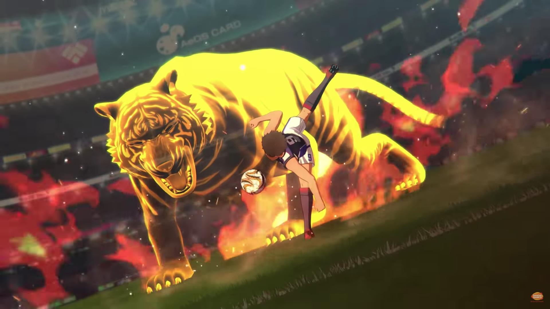 Anime videojuego Captain Tsubasa