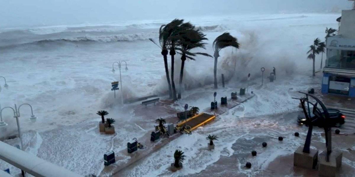 Tormenta 'Gloria' en España: se registran cuatro muertos, enormes olas y lugares inundados (videos)