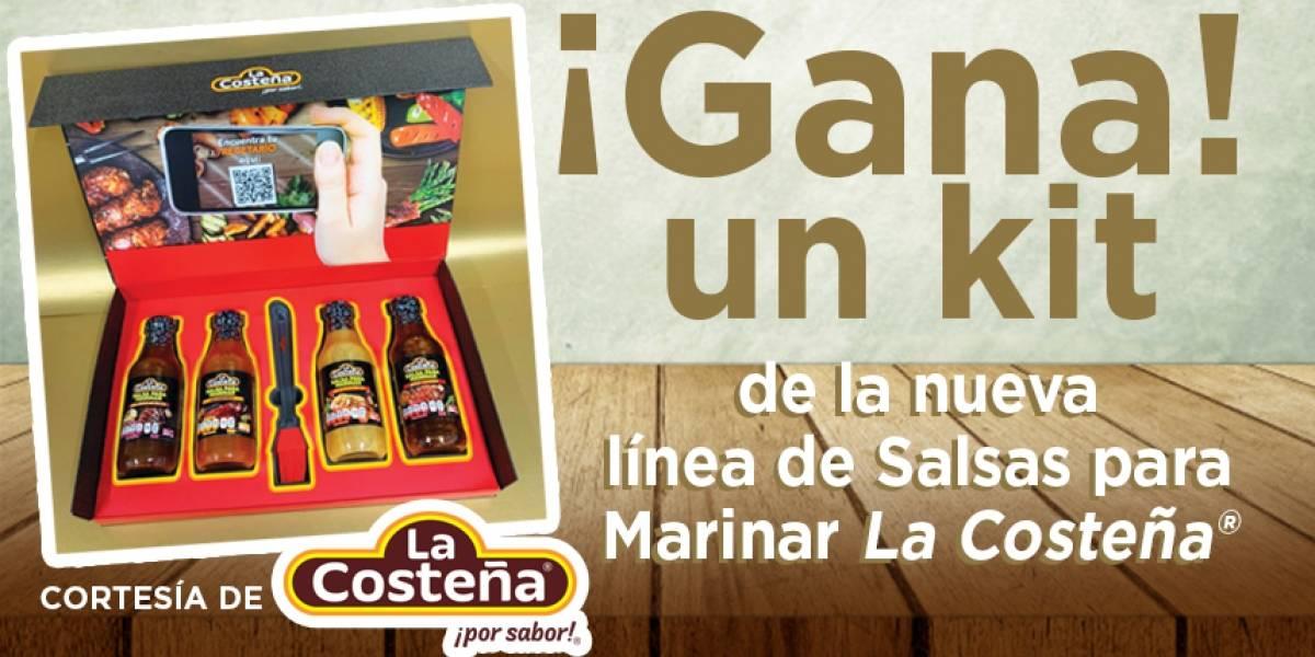 Gana un kit de la nueva línea de salsas para Marinar La Costeña®