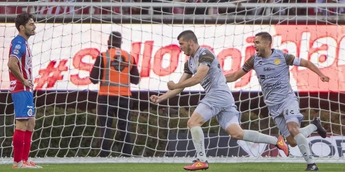 """Ni tan """"galácticas"""": pierden las Chivas en Copa MX"""
