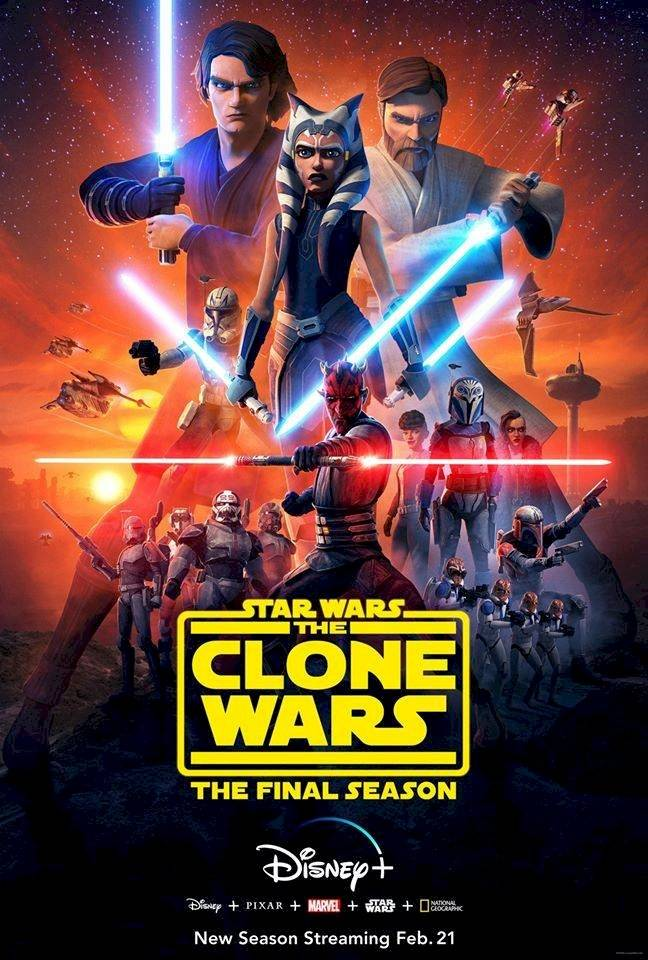 Póster The Clone Wars