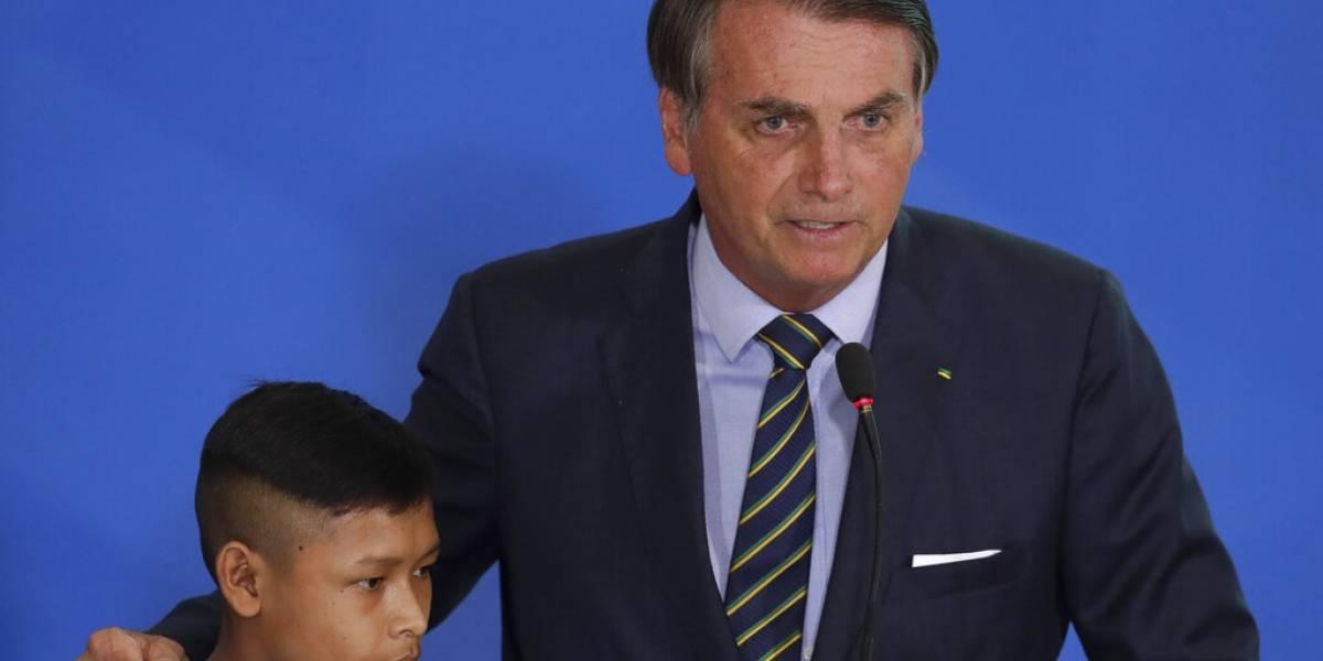 Bolsonaro dice que evitará la prensa para no ser acusado de agredirla