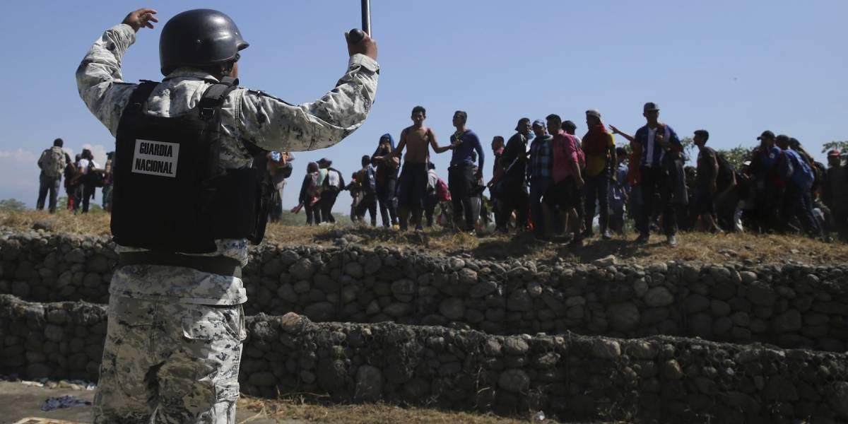 Durazo defiende actuación de Guardia Nacional en la frontera