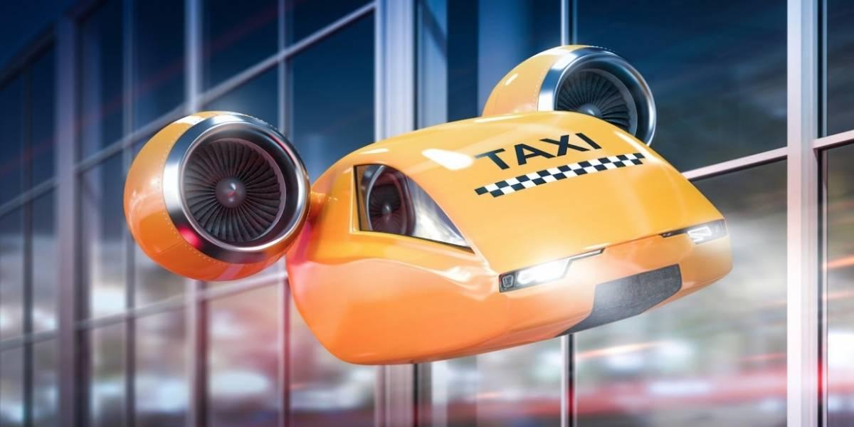 Muy pronto podremos viajar en Taxis voladores