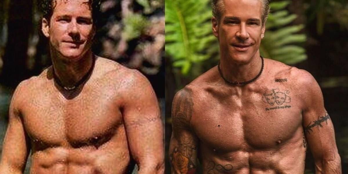 Las fotos del antes y después de Fernando Carrillo
