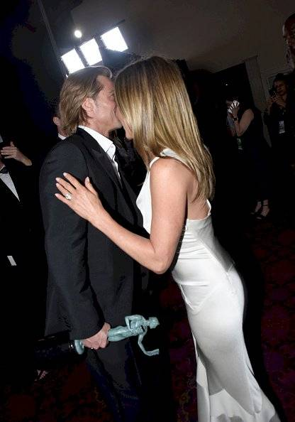 Getty/ Jennifer Aniston y Bradd Pitt