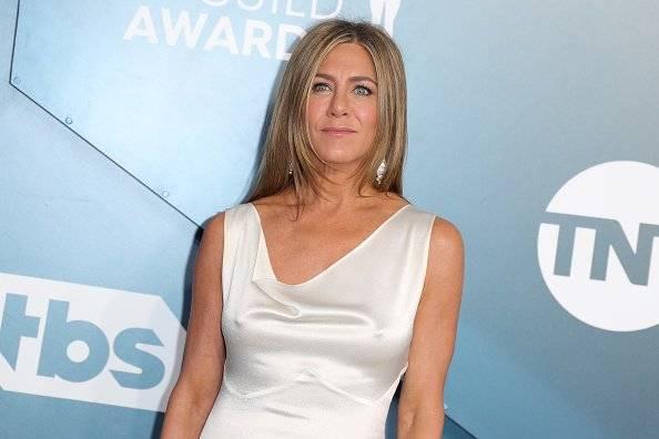 Jennifer Aniston en la gala/Getty