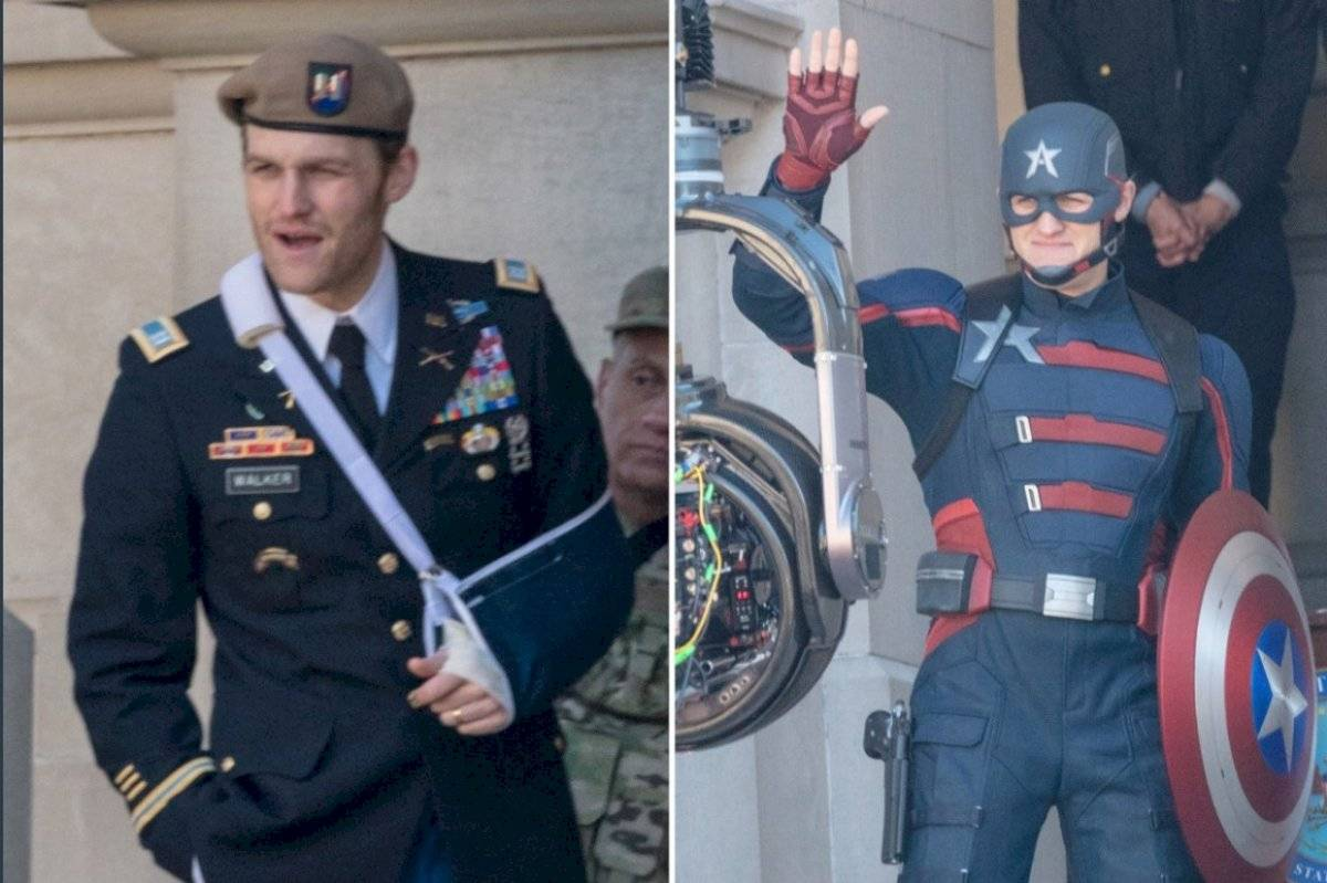 filtran imagen del nuevo aspecto del Capitán América