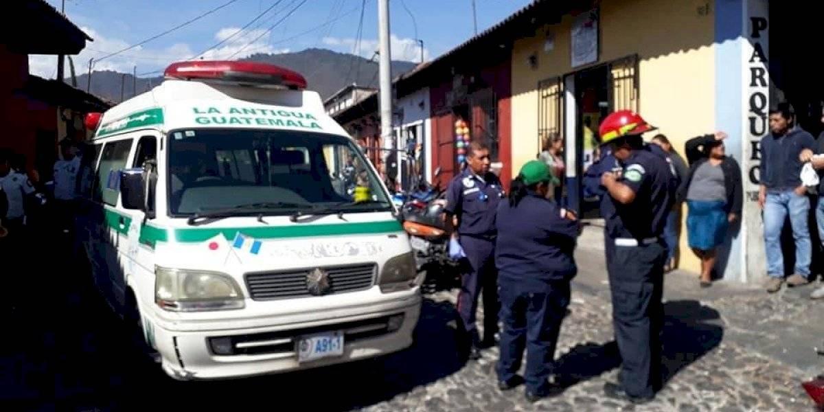 Dan muerte a una mujer en el interior de un hotel de Antigua Guatemala