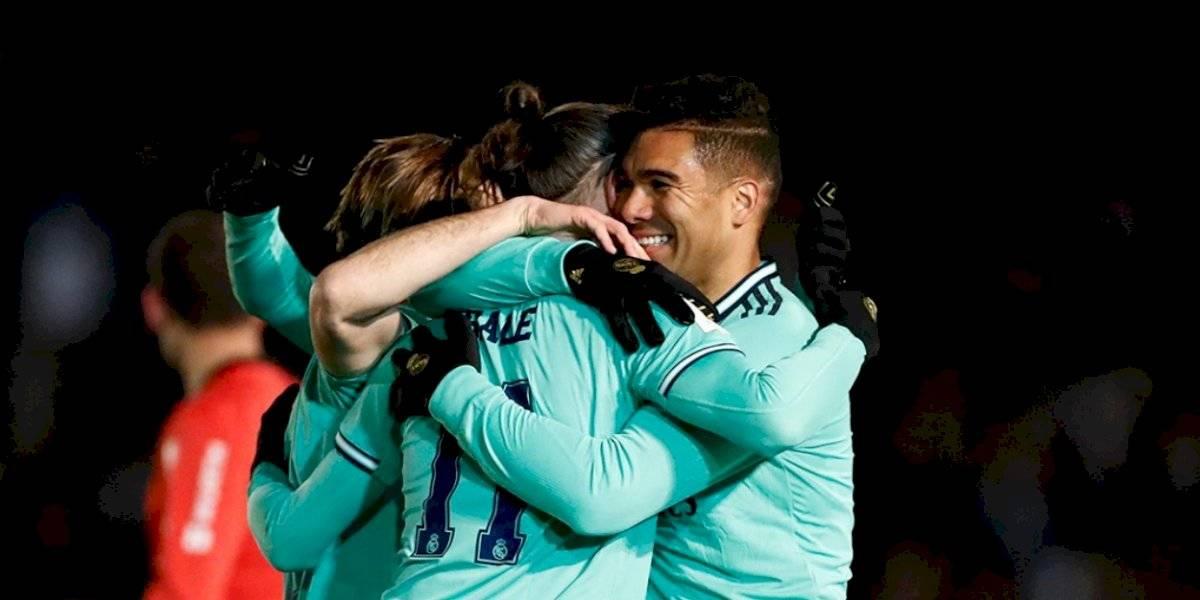 Real Madrid avanza en la Copa del Rey con complicaciones
