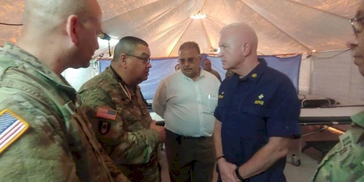Subsecretario Salud federal visita afectados por terremotos