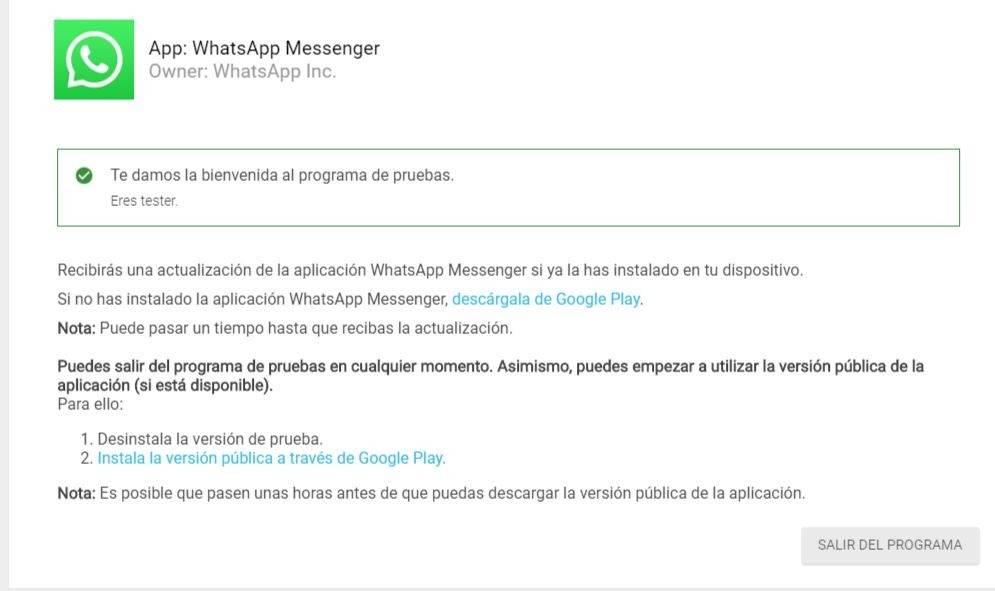 WhatsApp: ya tenemos el modo oscuro para la app y así puedes activarlo