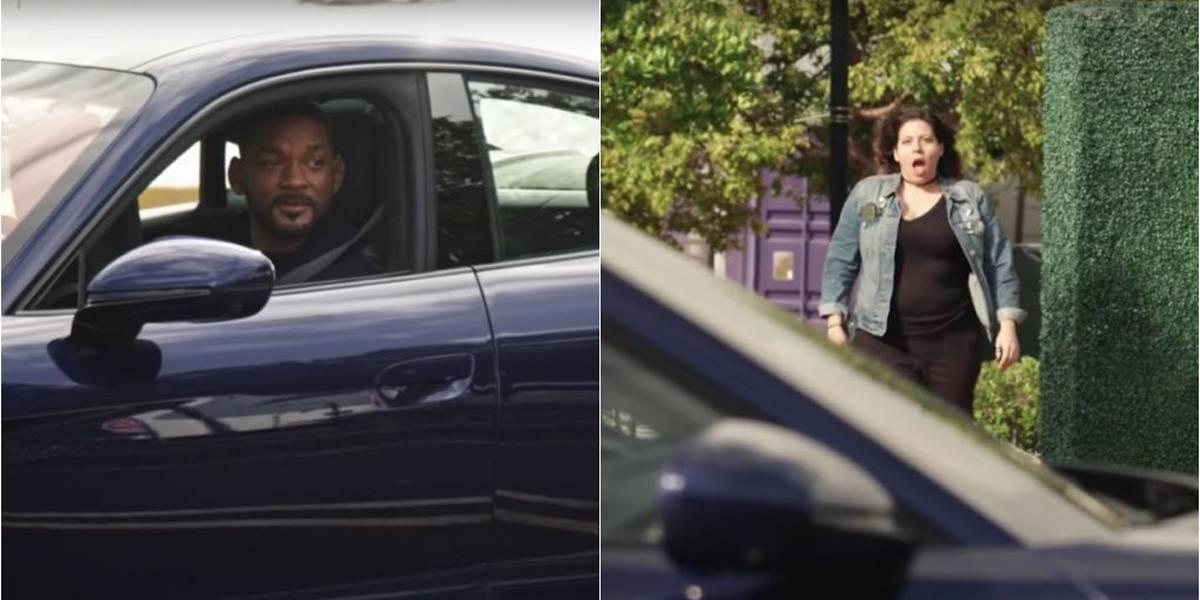 Will Smith ataca de motorista de aplicativo para promover Bad Boys 3