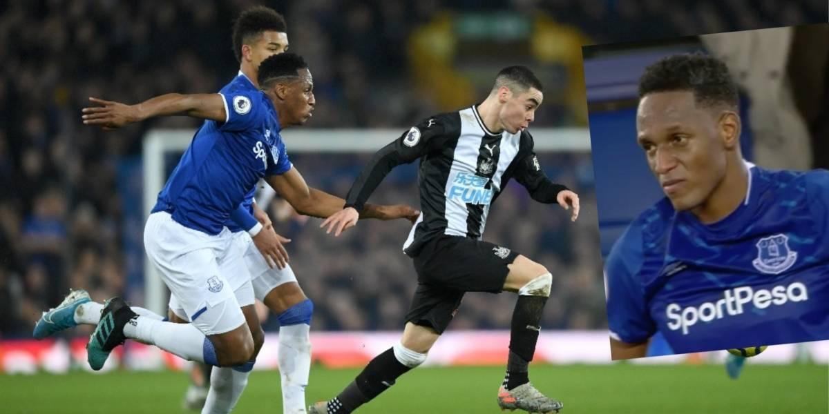 VIDEO | Dos opciones de gol para Yerry Mina en Everton VS ...