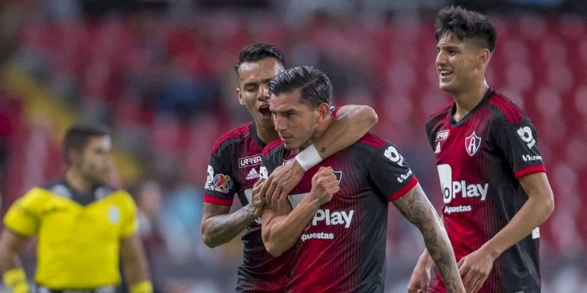Atlas saca ventaja sobre el Toluca en la Copa MX