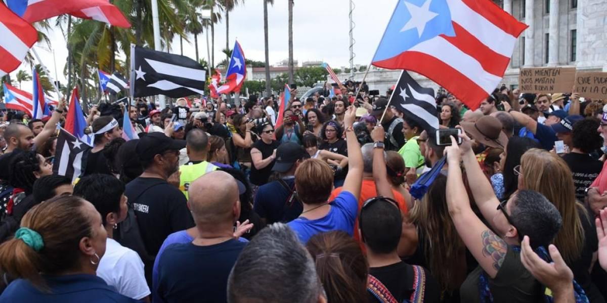 EN VIVO: Manifestantes marchan del Capitolio hacia Fortaleza
