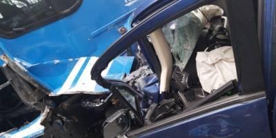 Accidente vía Nono