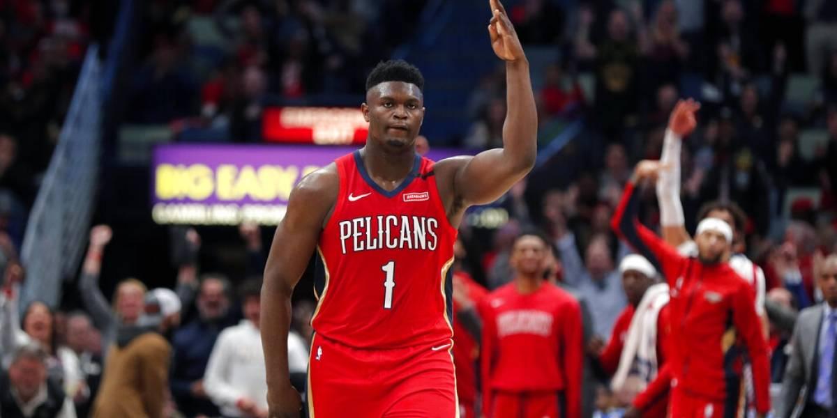 Zion brilla en su debut pero los Spurs empañan la fiesta de los Pelicans