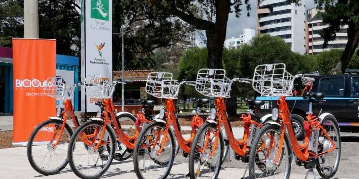 Quito: Bicicletas eléctricas de más USD 2.000, adquiridas en 2015 y 2016, están almacenadas