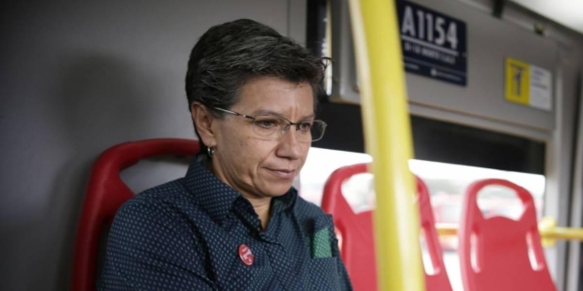 Es definitivo: Claudia López asegura que no habrá TransMilenio por la Séptima
