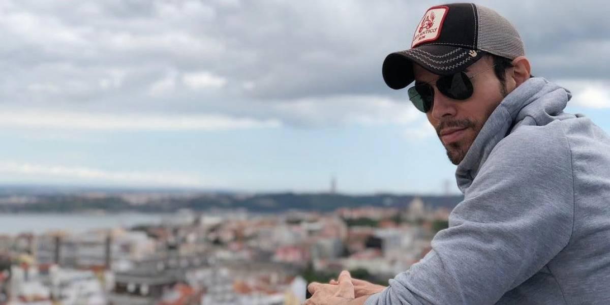 Enrique Iglesias publica tiernas fotos junto a sus mellizos y derrite las redes