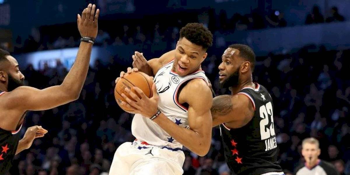 Anuncian a los equipos para el All-Star Game de la NBA