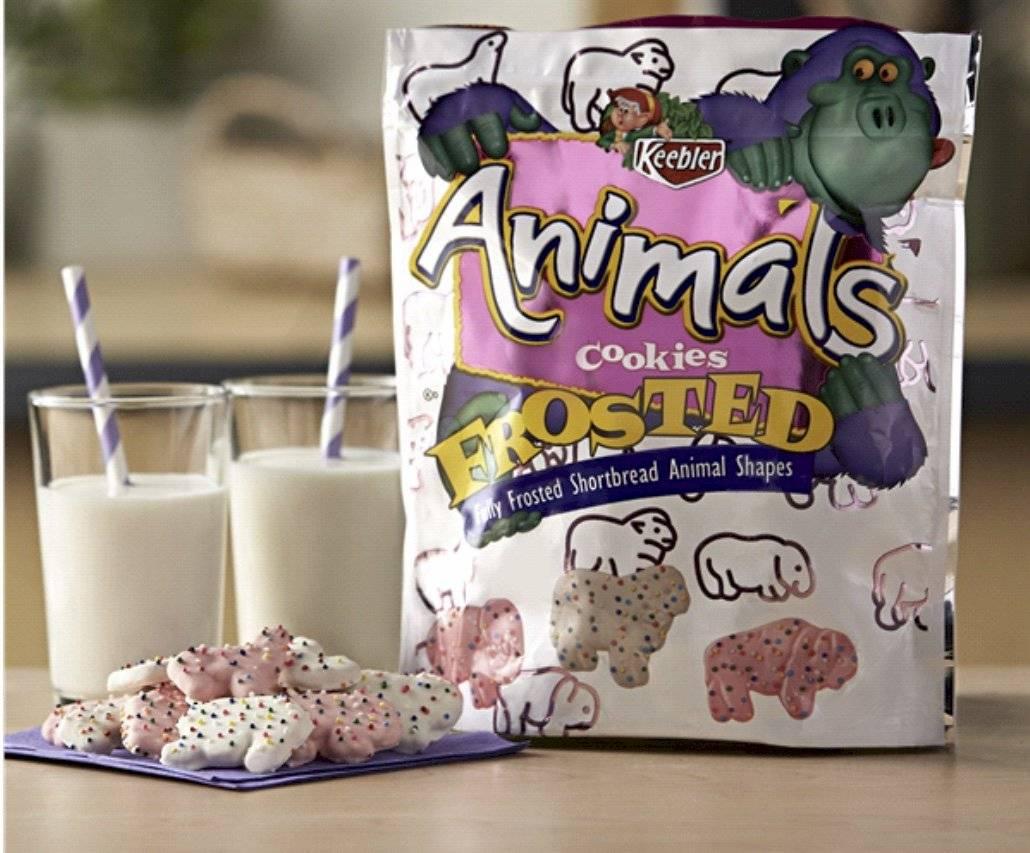 galletas de animales Keebler