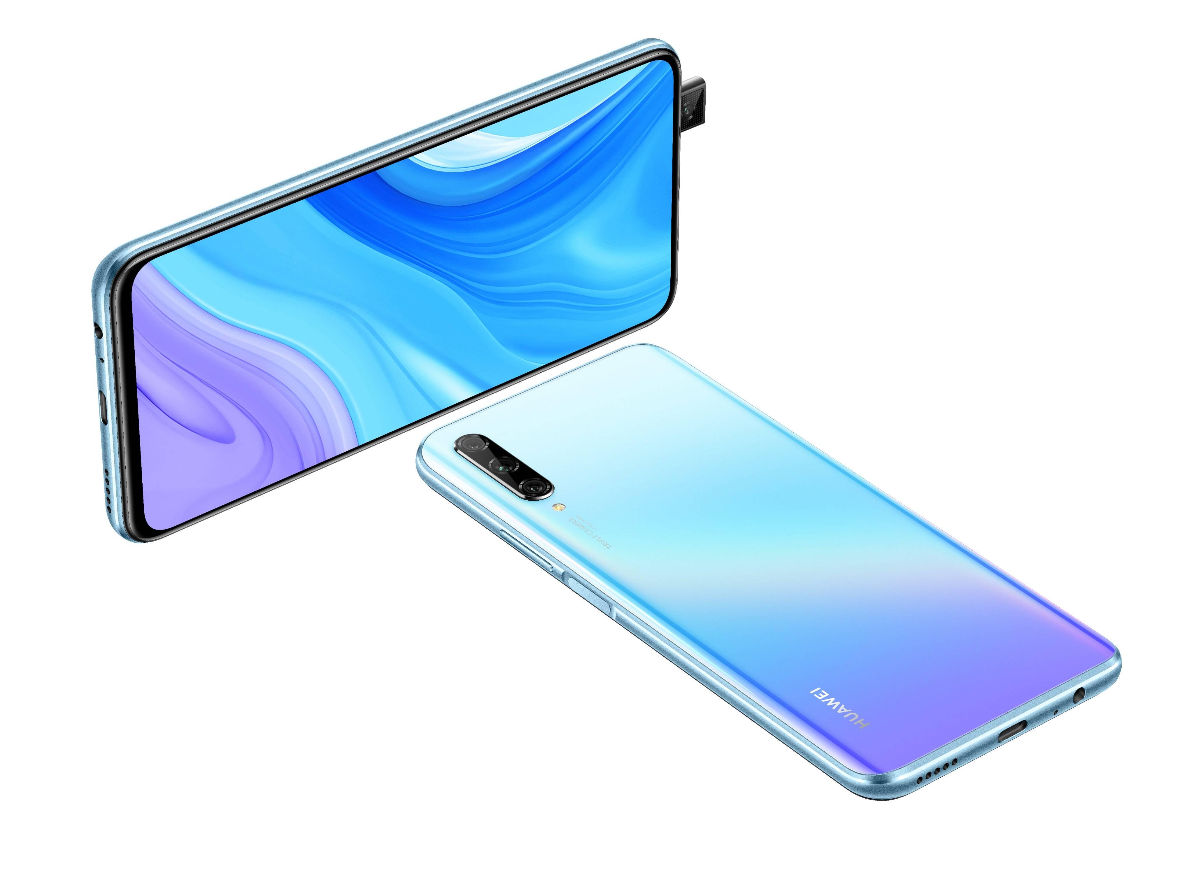 Huawei lanza en Chile su nuevo modelo Y9s, con cámara pop-up