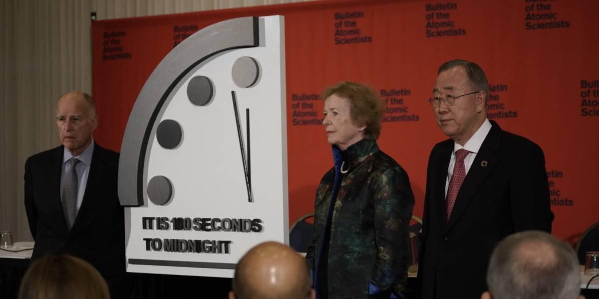"""Avanza el """"Reloj del Fin del Mundo""""; nos quedan solamente 100 segundos"""