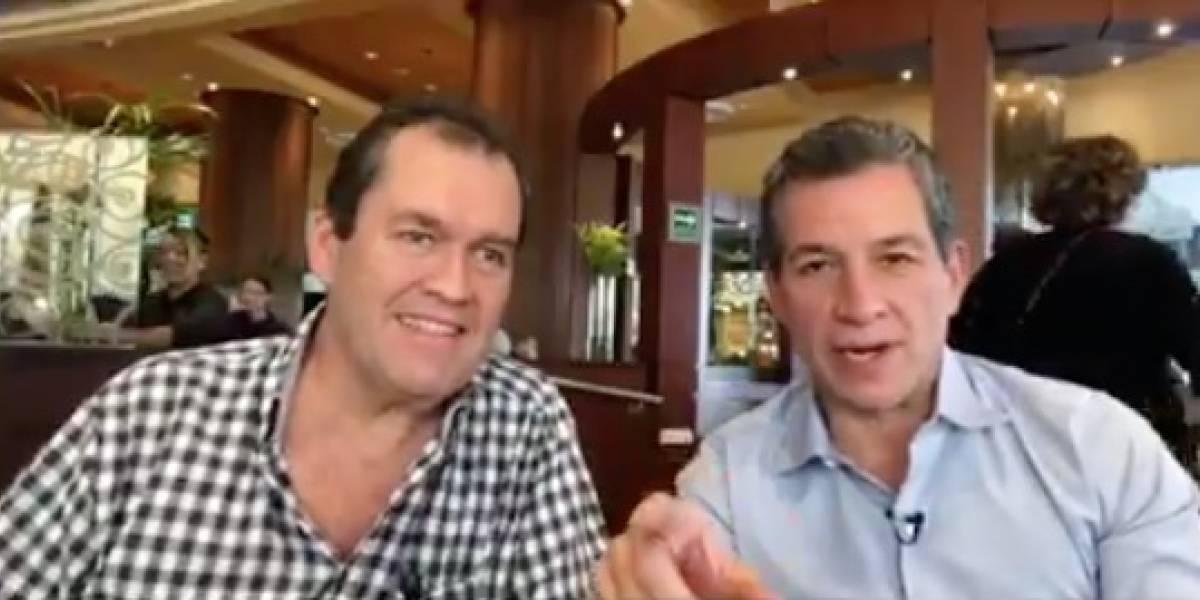 VIDEO: Javier Alarcón pide ayuda para Javier Sahagún, periodista que sufrío cáncer