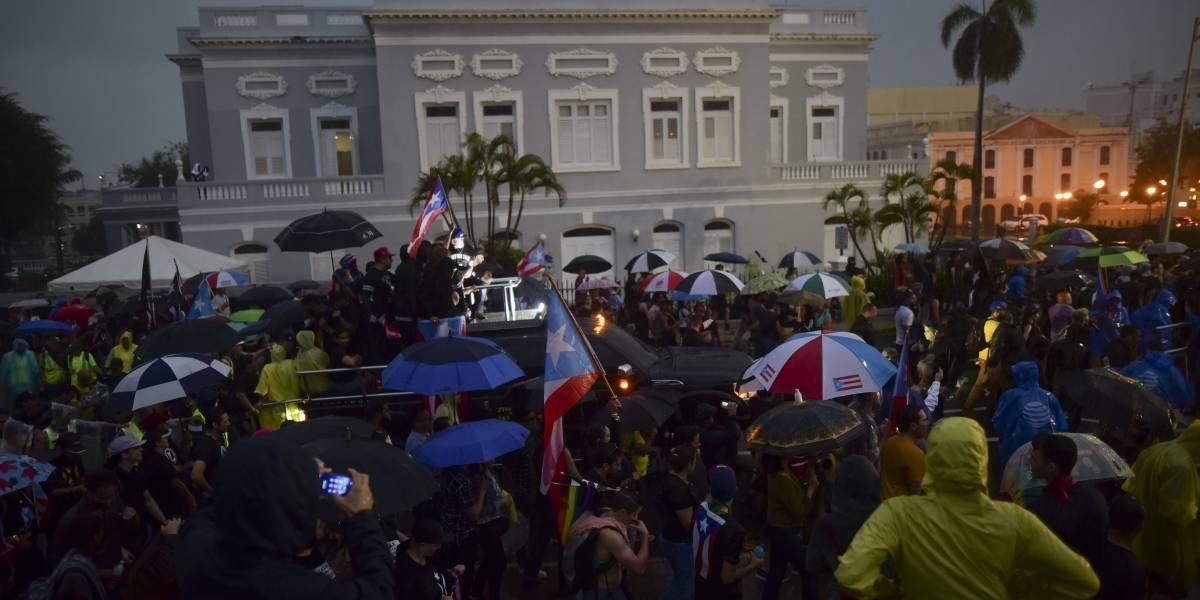 Cuatro querellas en la policía por daños en San Juan durante manifestación